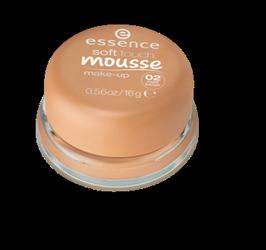 essence Soft Touch Mousse Make-up matujący podkład w musie nr 02 matt beige
