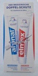 Medizinischer Schutz für Zähne & Zahnfleisch zestaw past 1x elmex + 1x aronal