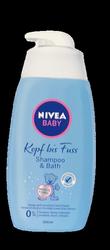 Nivea Baby Shampoo & Bath szampon i płyn do kapieli 2w1 rumianek