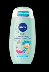 Nivea Kids 3 in 1 Duschgel & Shampoo Apfelduft żel, szampon, odżywka dla dzieci jabłko
