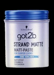 Schwarzkopf Got2b Strand Matte Matt Paste modelująca pasta do włosów