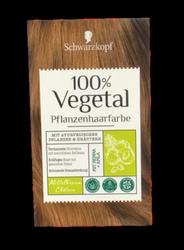 Schwarzkopf Pflanzenhaarfarbe Mittelbraun farba roślinna średni brąz