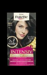 Schwarzkopf  Poly Palette Intensiv Creme Coloration Schwarz farba do włosów czerń nr 900