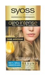 Syoss Oleo Intense Coloration Kühles Beige-BlondSmoky Blondes farba z olejkami zimny beżowy blond
