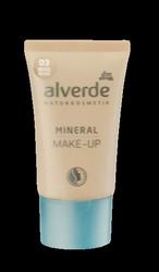 alverde Naturkosmetik Mineral Make-up rose beige podkład mineralny różowy beż nr 03