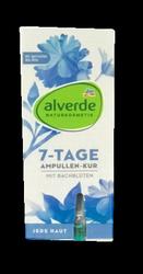 alverde naturkosmetik Ampullen 7-Tage Kur Auszeit 7 dniowa kuracja do twarzy ampułki 7 szt.