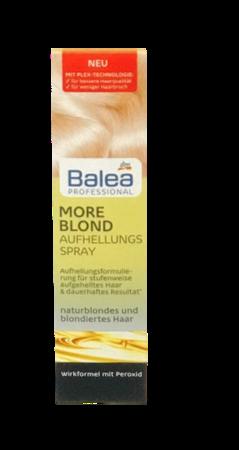 Balea Professional More Blond Spray spray rozjąśniaący do włosów blond