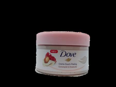 Dove Creme-Dusch-Peeling Granatapfel & Sheabutter peeling do ciała granat i masło Shea