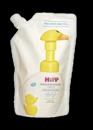 Hipp Babysanft Wasschaum Sensitiv Nachfüllbeutel pianka do kąpieli uzupełniacz