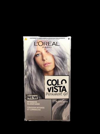 L'Oréal Colovista Haarfarbe silvergrey farba do włosów srebrny siwy