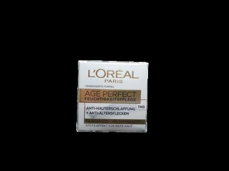 L'Oréal Paris Age Perfect Soja-Peptide Substanz-Stärkende Feuchtigkeitspflege Tag krem na dzień soja cera dojrzała