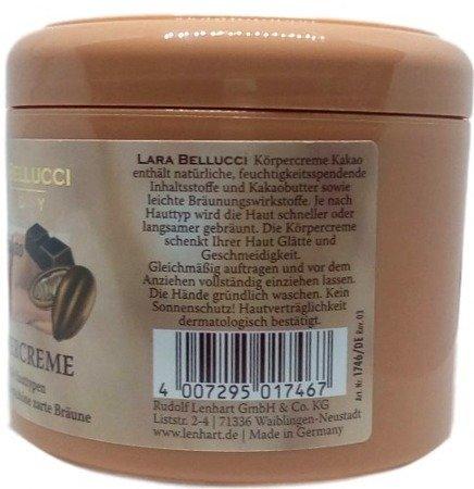 Lara Bellucci Body Körpercreme Kakao krem do ciała kakao