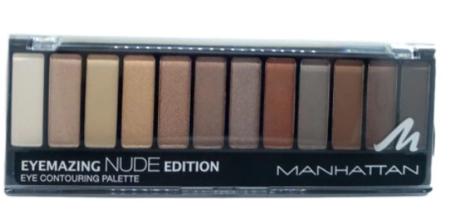 Manhattan Cosmetics Eyemazing Eye Contouring Palette 001 Nude Paleta cieni nr 001 nude