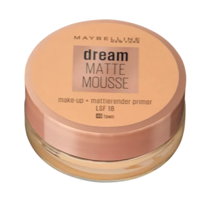 Maybelline New York Dream Matte Mousse Make-up fawn podkład matujacy w musie nr 40