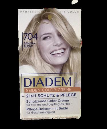 Schwarzkopf Diadem farba Sahara blond nr 704