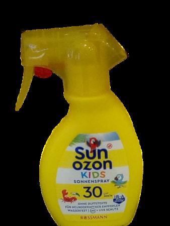 Sun Ozon Kids Sonnenspray LSF 30 spray ochronny dla dzieci filtr 30