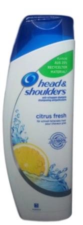 head & shoulders  Shampoo Anti-Schuppen Citrus Fresh szampon przeciwłupieżowy cytrusy