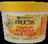 Garnier Fructis pflegendes Banana Hair Food 3in1 Maske maska, odżywka, kuracja 3w1 banany