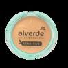 Alverde Natukosmetik Gesichtspuder Mattifying Powder Sensitive Medium 02 puder matujący nr 02 średni skóra wrażliwa