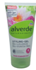 Alverde Naturkosmetik Styling Gel Lotusblütenextrakt Violetter Reis żel do włosów fioletowy ryż